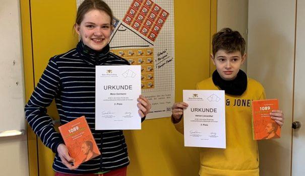 Die Zahlen stimmten: Preise beim Landeswettbewerb Mathematik